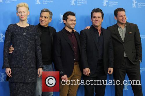 Tilda Swinton, George Clooney, Alden Ehrenreich, Josh Brolin and Channing Tatum 2