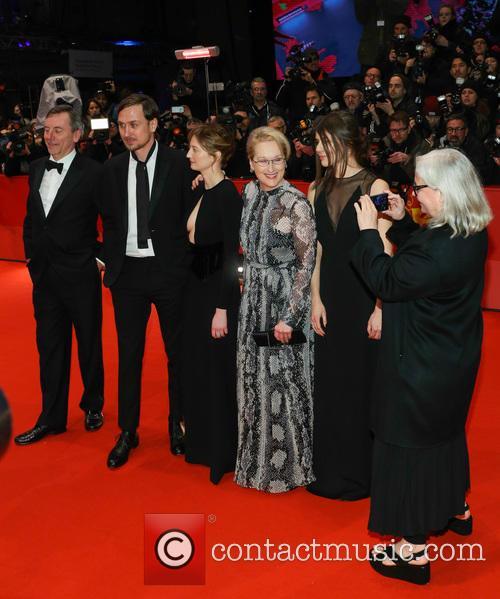 Lars Eidinger, Alba Rohrwacher, Meryl Streep, Małgorzata Szumowska and Brigitte Lacombe 7