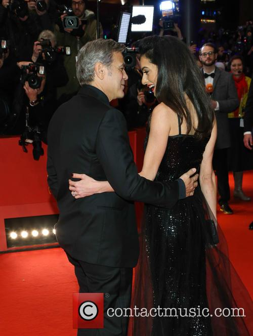 George Clooney and Amal Alamuddin 2