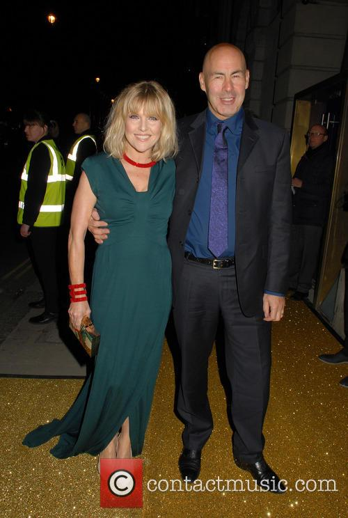 Ashley Jensen and Terence Beesley at BAFTA Fundraising Gala 2016