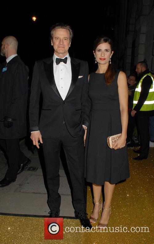 Colin Firth and Livia Giuggioli 2