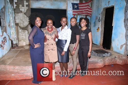 Saycon Sengbloh, Akosua Busia, Luptia Nyong'o, Zainab Jah and Pascale Armand 6