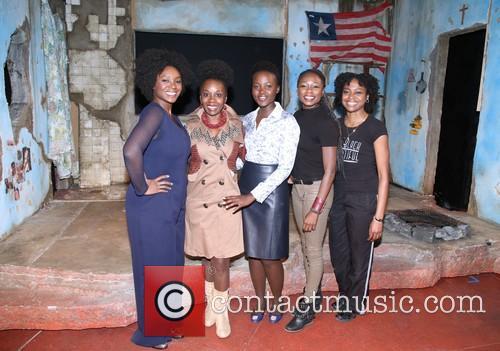 Saycon Sengbloh, Akosua Busia, Luptia Nyong'o, Zainab Jah and Pascale Armand