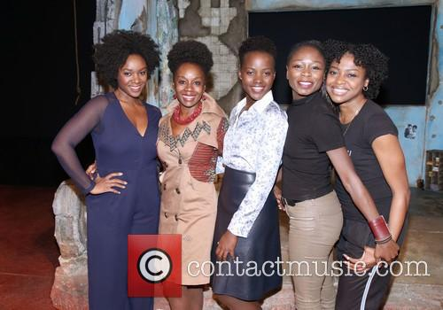 Saycon Sengbloh, Akosua Busia, Luptia Nyong'o, Zainab Jah and Pascale Armand 9