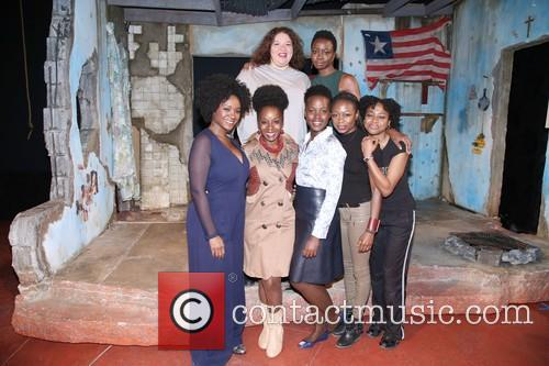 Liesl Tommy, Danai Gurira, Saycon Sengbloh, Akosua Busia, Luptia Nyong'o, Zainab Jah and Pascale Armand 4