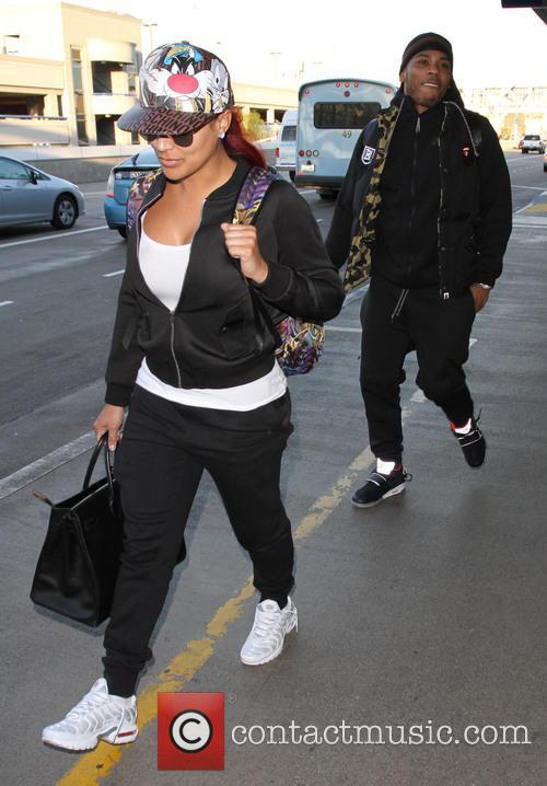 Nelly and Shantel Jackson 6