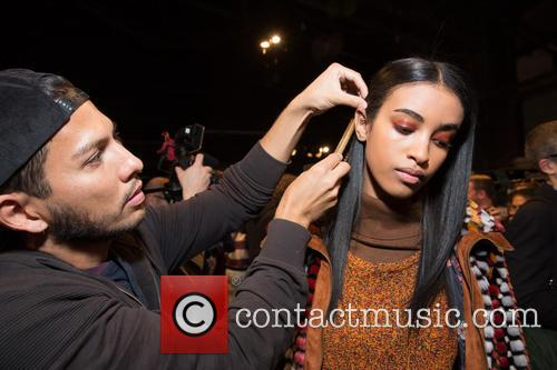 New York Fashion Week, Fall, Desiquel and Backstage 7