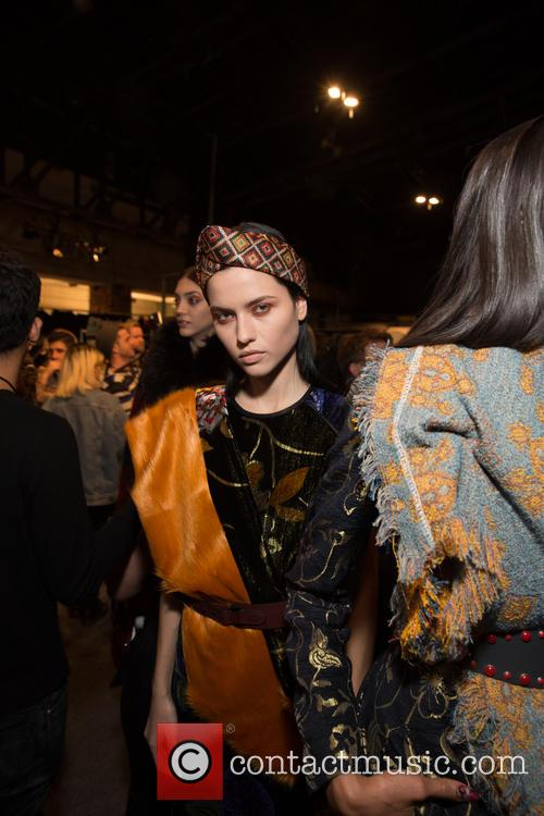 New York Fashion Week, Fall, Desiquel and Backstage 11