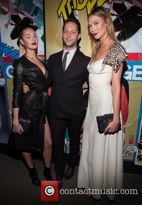 Candice Swanepoel, Derek Blasberg and Karlie Kloss 3