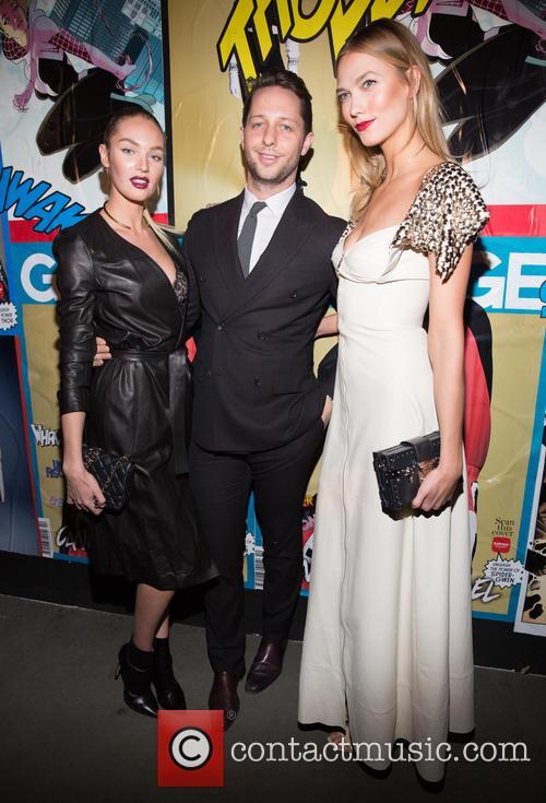 Candice Swanepoel, Derek Blasberg and Karlie Kloss 4