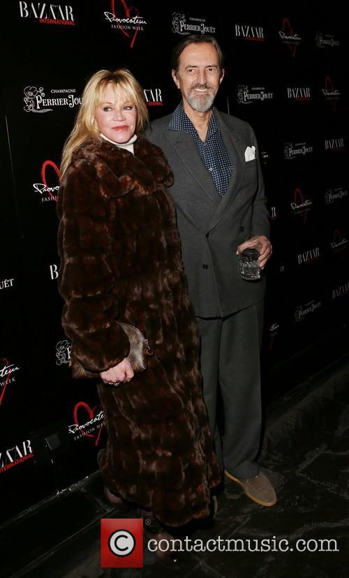 Melanie Griffith and Giovanni Gastel 1