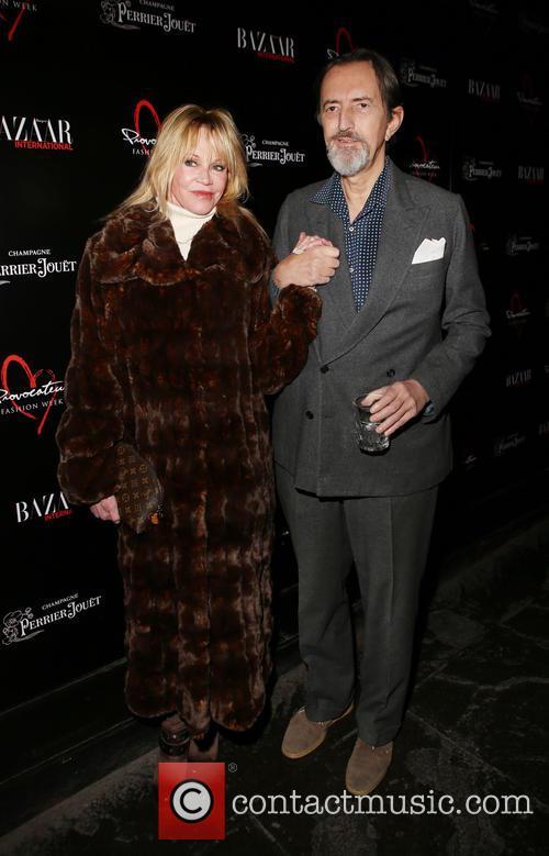 Melanie Griffith and Giovanni Gastel 2