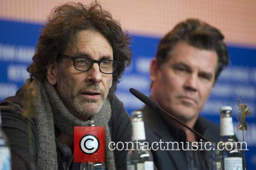 Joel Coen and Josh Brolin 2