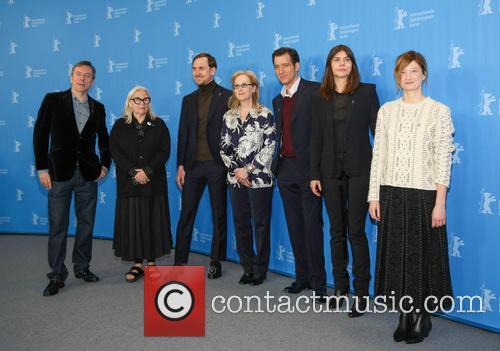 Nick James, Brigitte Lacombe, Lars Eidinger, Meryl Streep, Clive Owen, Małgorzata Szumowska and Alba Rohrwacher 1
