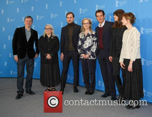 Nick James, Brigitte Lacombe, Lars Eidinger, Meryl Streep, Clive Owen, Małgorzata Szumowska and Alba Rohrwacher 2