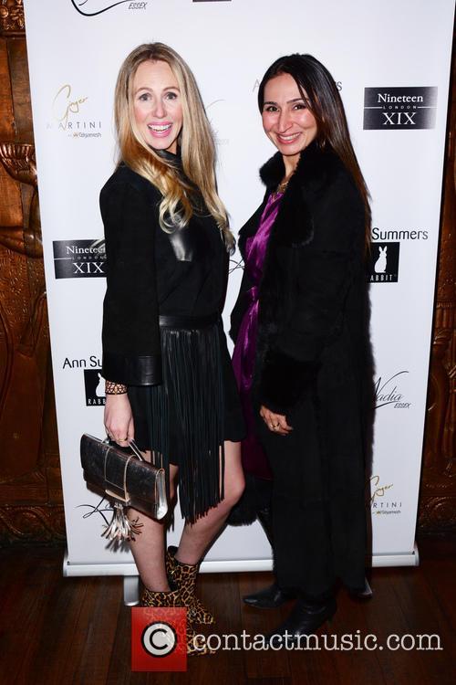 Naomi Isted and Dr Shirin Lakhani 1