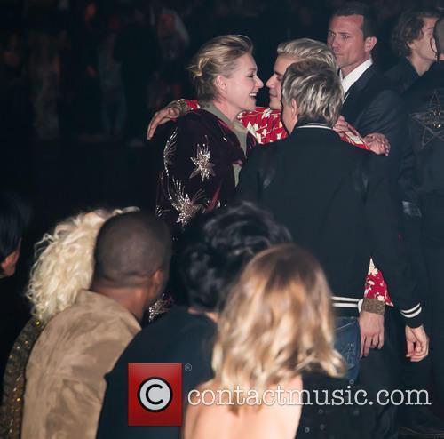 Portia De Rossi, Justin Bieber, Ellen Degeneres, Lady Gaga and Rosie Huntington-whiteley 1