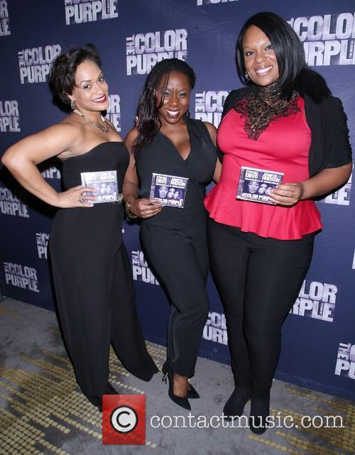 The Color Purple, Rema Webb, Bre Jackson and Carrie Compere 6