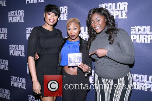 Jennifer Hudson, Cynthia Erivo and Danielle Brooks 7