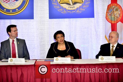 Wifredo A. Ferrer, Loretta E. Lynch and Eduardo J. Padrón 1