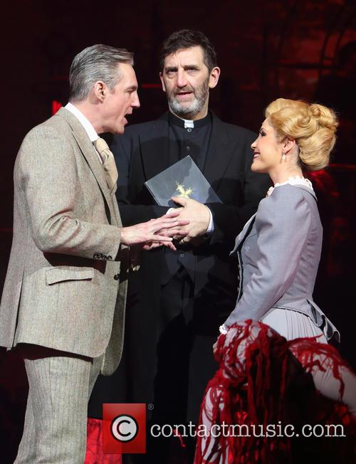 Michael Praed, Jimmy Nail and Heidi Range 1