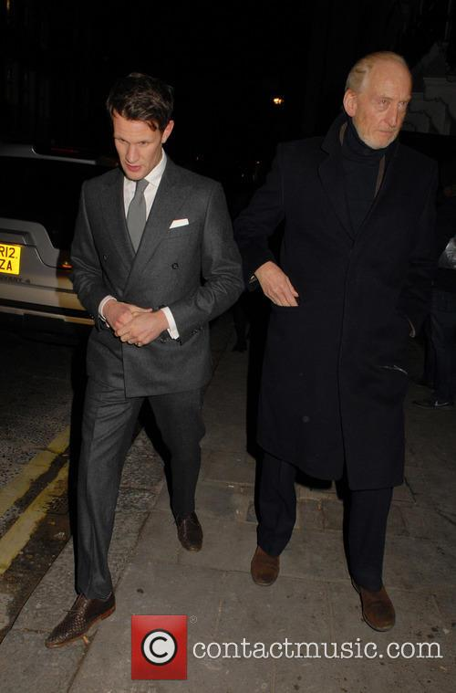 Matt Smith and Charles Dance 2