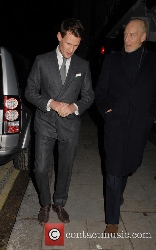 Matt Smith and Charles Dance 8