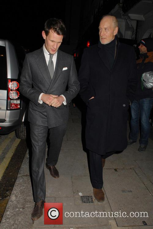 Matt Smith and Charles Dance 9