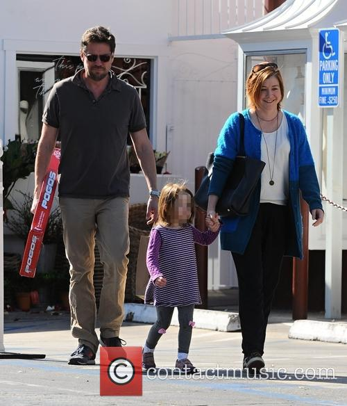 Alyson Hannigan, Alexis Denisof and Satyana Marie Denisof 4