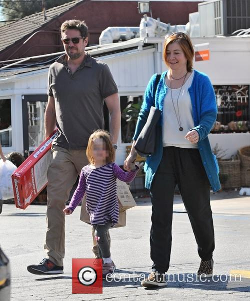 Alyson Hannigan, Alexis Denisof and Satyana Marie Denisof 6