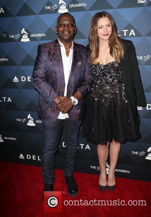 Randy Jackson and Katharine Mcphee 4