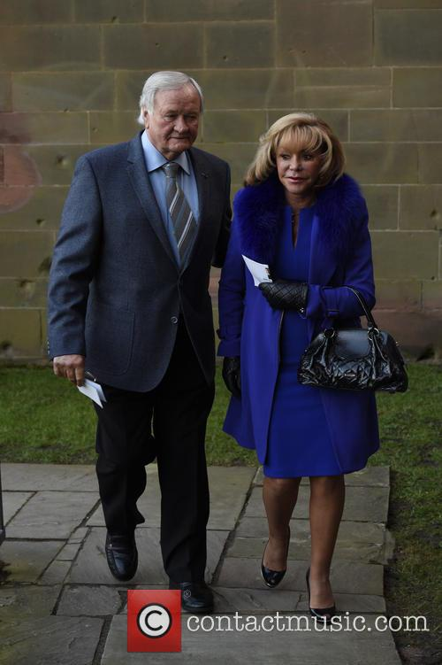 Ron Atkinson and Wife 3