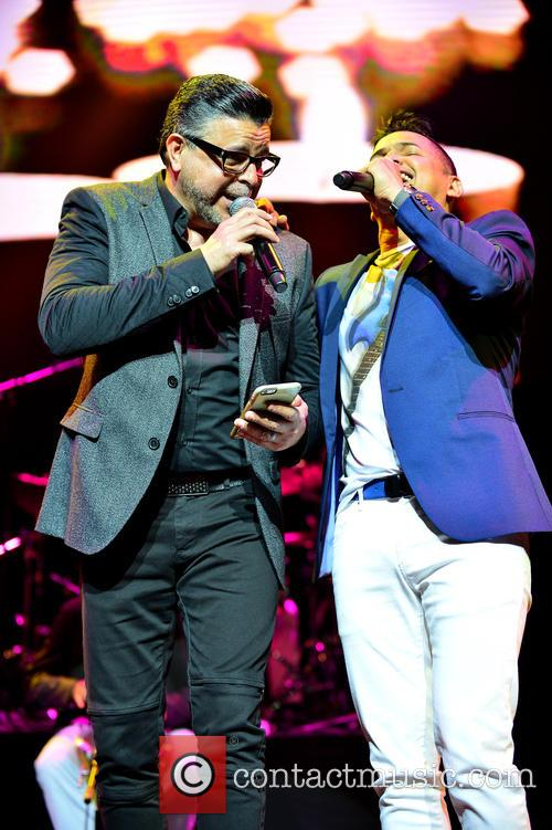 Luis Enrique and Jorge Celedon 7