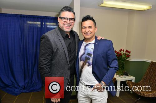 Luis Enrique and Jorge Celedon 11