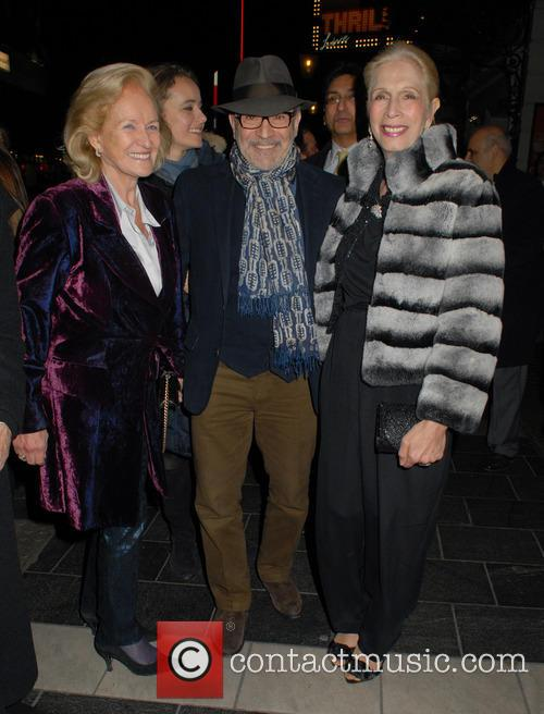Lady Rona Delves Broughton, David Suchet and Lady Colin Campbell 1