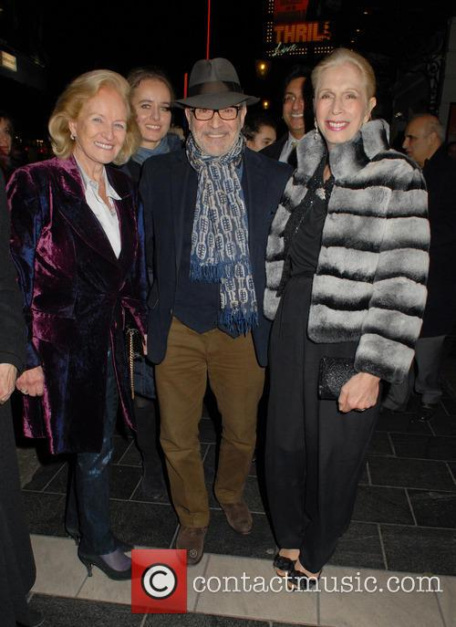 Lady Rona Delves Broughton, David Suchet and Lady Colin Campbell 2