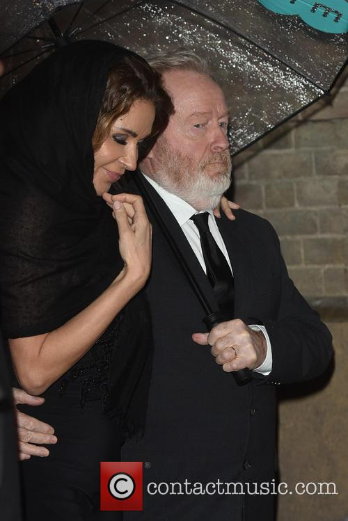 Ridley Scott and Giannina Facio 1