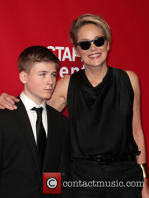 Roan Bronstein and Sharon Stone 4