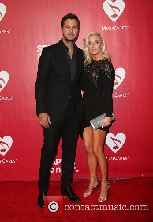 Luke Bryan and Caroline Boyer Bryan 8