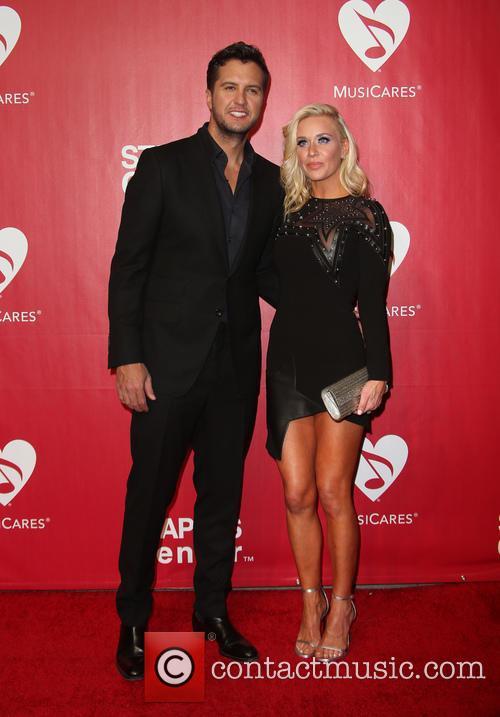 Luke Bryan and Caroline Boyer Bryan 9