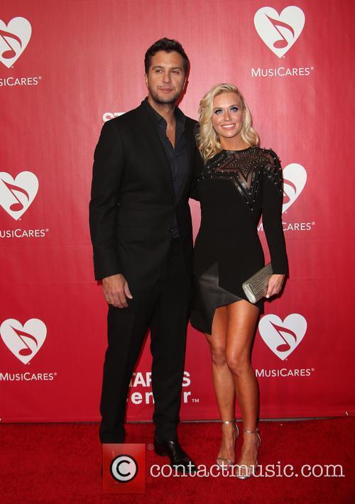 Luke Bryan and Caroline Boyer Bryan 11