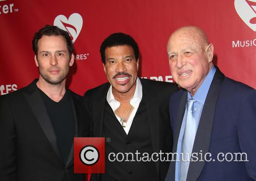 Jeff Raymond, Lionel Richie and Paul Bloch