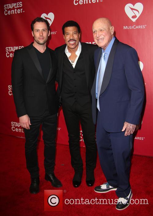 Jeff Raymond, Lionel Richie and Paul Bloch 3