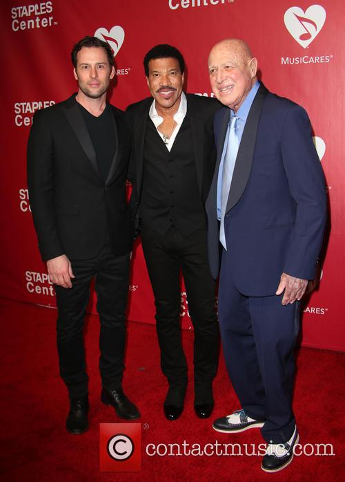 Jeff Raymond, Lionel Richie and Paul Bloch 4