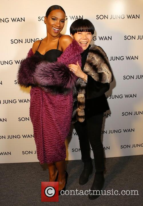 Vicky Jeudy and Son Jung Wan 2