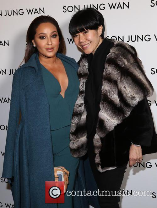 Adrienne Bailon and Son Jung Wan 9