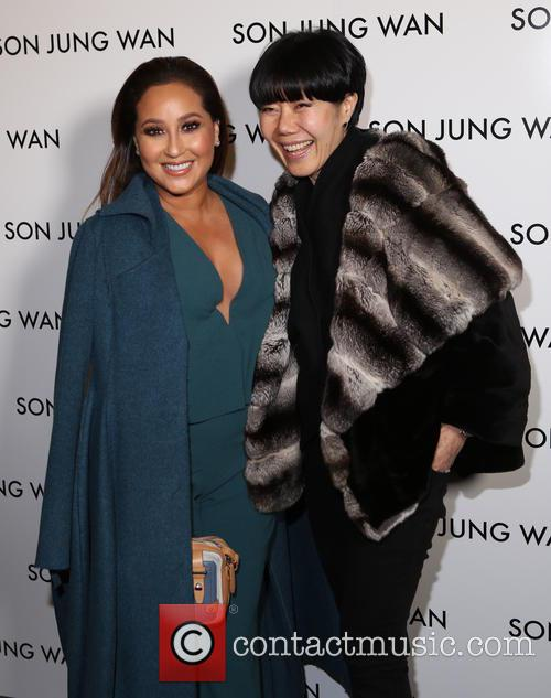 Adrienne Bailon and Son Jung Wan 10