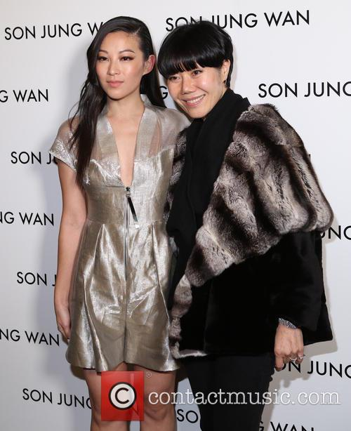 Arden Cho and Son Jung Wan 1