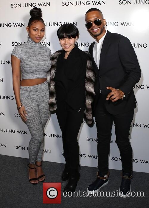 Tashiana Washington, Son Jung Wan and Eric West