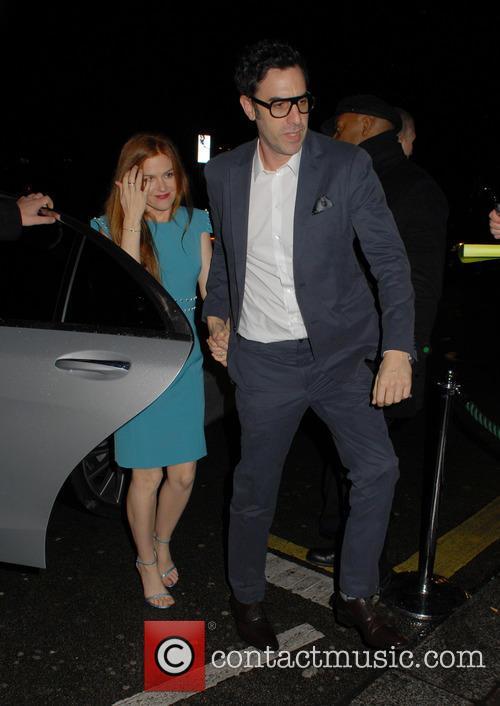 Isla Fisher and Sacha Baron Cohen 1